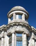 The facade of building on the Avenue of the Allies (Avenida dos Stock Photography