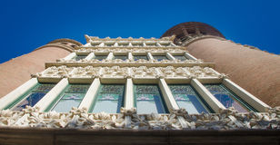 Facade of a building. In Barcelona, Spain Royalty Free Stock Images