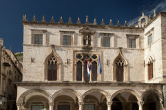 Facade of a building at Dubrovnik. Arabic style of a building facade at Dubrovnik Royalty Free Stock Image