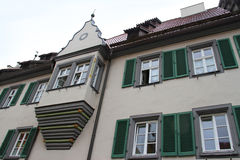 Facade of building in Germany Stock Photos