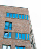 Facade of a building in Hafencity Hamburg Stock Image