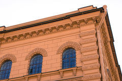 Facade of a building Royalty Free Stock Images