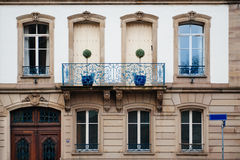 Facade building Royalty Free Stock Photos
