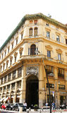 Facade of a building in Naples Royalty Free Stock Photography