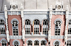Facade of the building of the National Bank of Ukraine views over Stock Photography