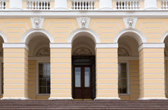 Facade of the building of the Russian Museum Stock Images
