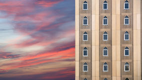 Facade of a building in a traditional Arabic style Royalty Free Stock Image