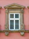 Facade of a building with windows Stock Photos
