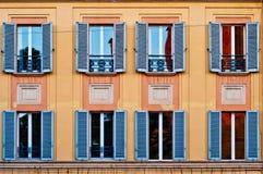Facade of a building Stock Photography