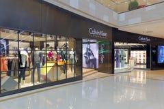 Facade of calvin klein clothing shop Royalty Free Stock Photography