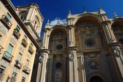 Facade of the Capilla Real. Granada, Spain royalty free stock image