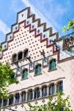 Facade of Casa Ametller in Barcelona Royalty Free Stock Photo
