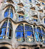 Facade of Casa Batllo, Barcelona. BARCELONA - DECEMBER 7: Facade of Casa Batllo, Barcelona on December 7, 2014. Barcelona is the capital city of Catalonia, Spain Stock Photo