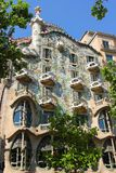 Facade of Casa Batllo Stock Photography