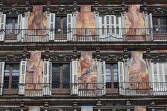 Facade Casa de Λα Panaderia στη Μαδρίτη, Ισπανία Στοκ φωτογραφίες με δικαίωμα ελεύθερης χρήσης