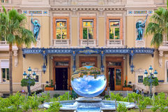 Facade of Casino in Monte Carlo, Monaco. Stock Photo