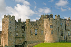 Facade of the castle Royalty Free Stock Images