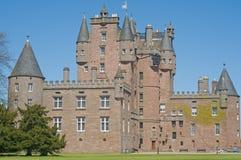Facade of the castle Stock Photography