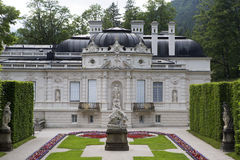 Facade of castle Linderhof, Bavaria Royalty Free Stock Photography