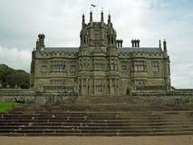Facade of the castle Stock Image