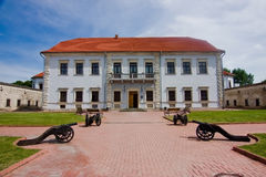 Facade Castle of Zbarazh Royalty Free Stock Photography