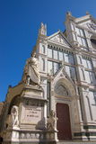 Facade of cathedral in Florence Royalty Free Stock Photo