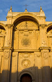 Facade of the Cathedral of Granada Stock Image