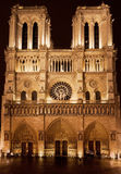 Cathedral Notre-Dame de Paris Stock Images