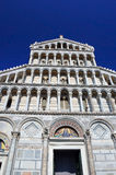 Facade of the Cathedral in Pisa, Stock Photography