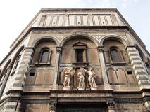 The Facade of Cathedral Santa Maria del Fiore Royalty Free Stock Images