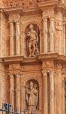 Facade of the Cathedral of Santa Maria of Palma & x28;Cathedral of St stock image