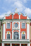 Facade of the Catherine Palace in the park Kadriorg Royalty Free Stock Image