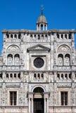 Facade of the Certosa di Pavia monastery, Italy Stock Images