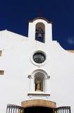 Facade of Chapel of Mare de Deu del Socors Royalty Free Stock Photography