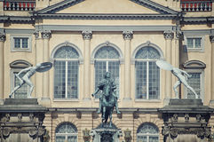 Facade of Charlottenburg Palace in Berlin Royalty Free Stock Image