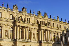 Facade of the chateau of Versailles Royalty Free Stock Photography