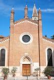Facade Chiesa dei Santi Nazaro e Celso in Verona Stock Image