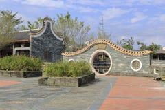 Facade of the chinese classical garden, heyuan Royalty Free Stock Photos