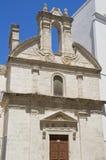 Facade of a Church. Royalty Free Stock Photo