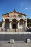 The facade of the Church of All Saints Stock Images