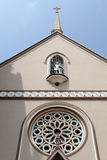 Facade of church Stock Photography