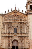 Facade of church del carmen V Royalty Free Stock Image