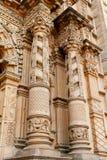 Facade of church del carmen VII Royalty Free Stock Photography