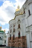 Facade of the church in Kiev. royalty free stock photography
