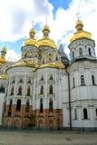 Facade of the church in Kiev. stock photography