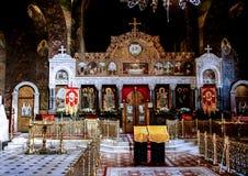 Facade of the church in Kiev. stock photos