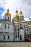 Facade of the church in Kiev. royalty free stock photo