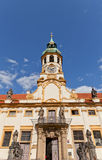 Facade of the Church of Lord Birth (Loreta) in Prague Royalty Free Stock Image