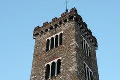 Facade of a church Stock Image