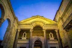 Facade of a Church. The facade of a Church in Split Croatia Stock Photos